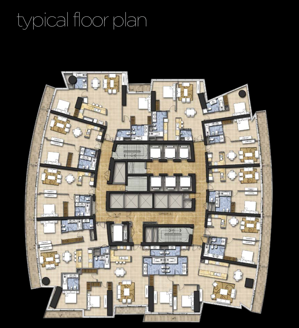Two Bedroom Apartment at DAMAC Heights BeoRent Everywhere at home
